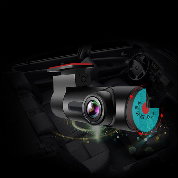 Unique WiFi Mini Hidden Car DVR Dash Cam (Night Vision, Loop Recording, Remote Button, Mobile App) car dvr cameras dash cams New Car Gadgets