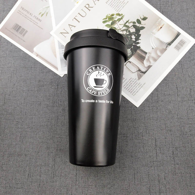 Vacuum Insulated Stainless Steel Car Coffee Mugs car coffee mugs New Car Gadgets