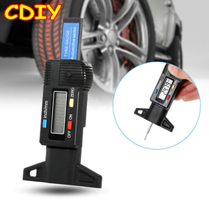 Car Tire Tread Depth Tester Gauge Meter Measuring Tool Car Maintenance Tools New Car Gadgets
