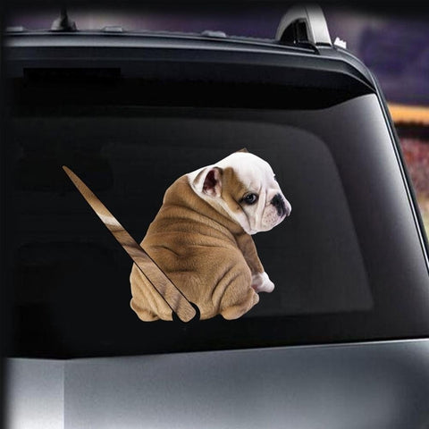 Funny Dog Sticker Decal for your Car Back Wiper Car Stickers Decals New Car Gadgets