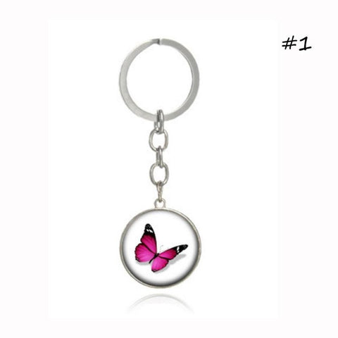 Butterfly Keychain Beautiful Car Keychain Car Keychains New Car Gadgets