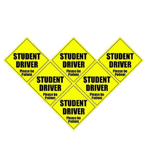 New STUDENT DRIVER Please Be Patient Decal Car Sticker Car Stickers Decals New Car Gadgets