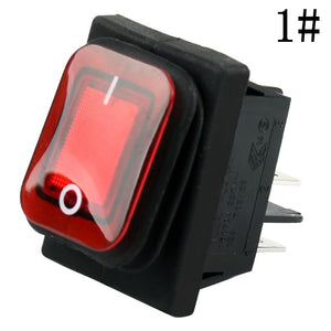 Waterproof Rocker Switch Button 4 pins Car Button Switches New Car Gadgets
