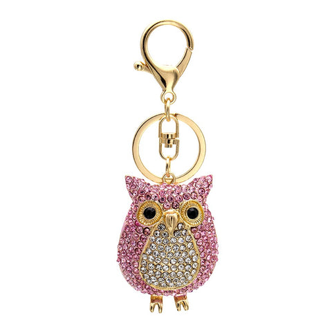 Animal Alloy Crystal Car Key Chain Car Keychains New Car Gadgets