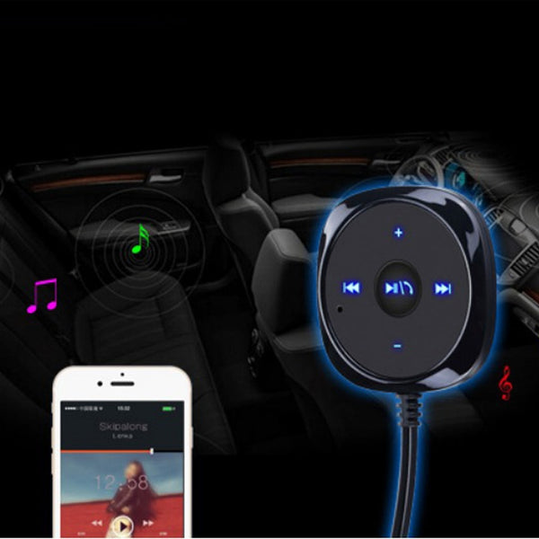 Handsfree Bluetooth Car Kit with Aux Connector Car Bluetooth Gadgets New Car Gadgets