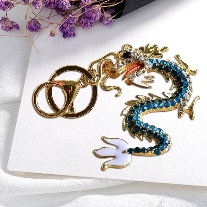 Metal Dragon Keychain Unique Car Keychains Car Keychains New Car Gadgets