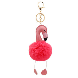 Flamingo Keychain Car Keychains New Car Gadgets