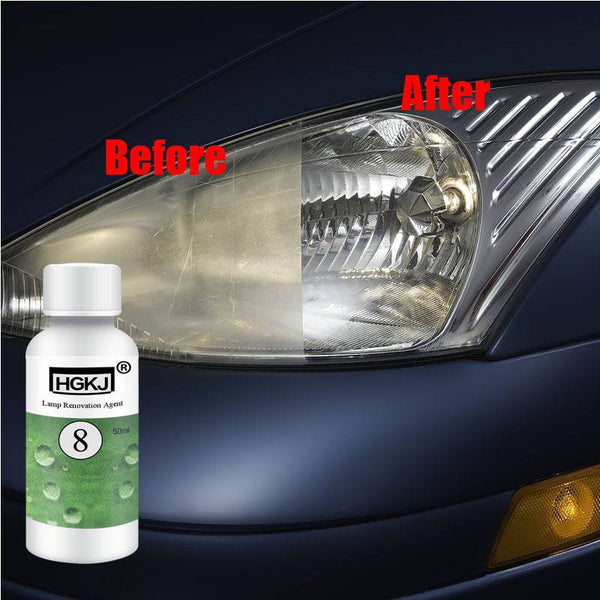 Car Headlights Restoration Kit ( DIY Polishing - Renovation ) Car Maintenance Tools New Car Gadgets