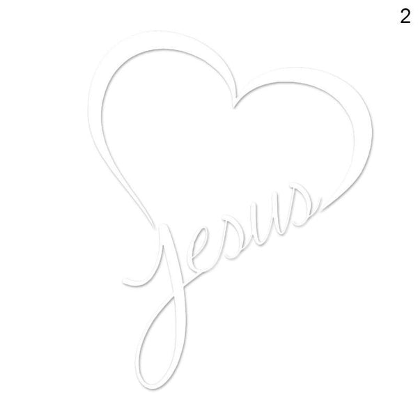 Love Jesus Car Stickers Decals Car Stickers Decals New Car Gadgets