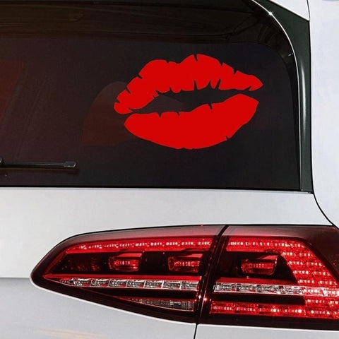 Sexy Kiss Mark Lips Car Decal Sticker Car Stickers Decals New Car Gadgets
