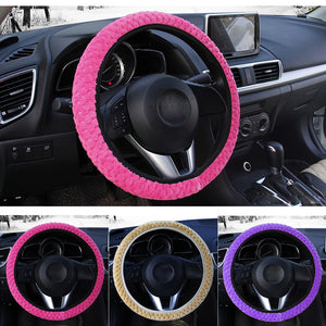 Colorful Warm Car Steering Wheel Covers Car Steering Wheel Covers New Car Gadgets