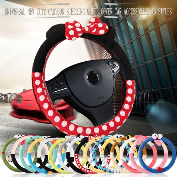 Girly Women Car Steering Wheel Covers Car Steering Wheel Covers New Car Gadgets