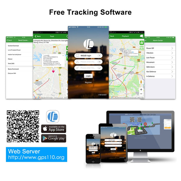 Mini GPS Car Tracker Works with Google Maps and Mobile App Car Trackers New Car Gadgets