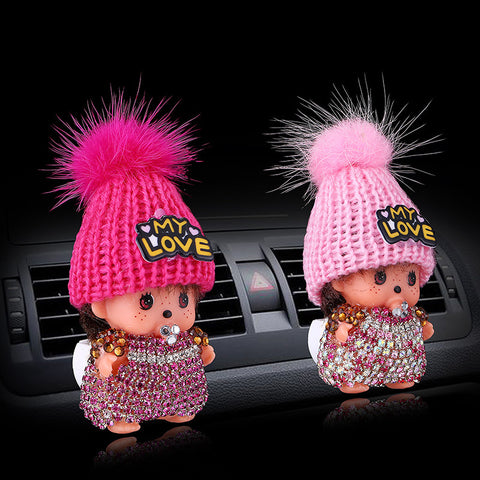 Doll Air Freshener My Love Car Air Fresheners New Car Gadgets