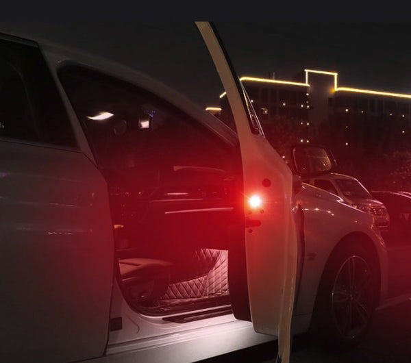 Wireless Magnetic Side Door Lights Warning Lights Car Exterior Lighting New Car Gadgets