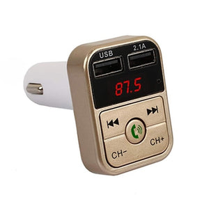 Car Bluetooth FM Transmitter Wireless Hands free Phone Calls MP3 player Car Bluetooth Gadgets New Car Gadgets