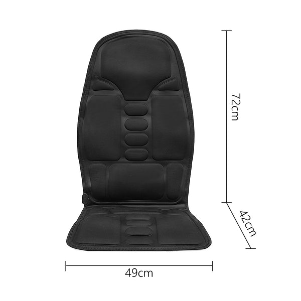 Heating Full Body Massage Seat Cover 3 Level Heating Temperature Control Car Seat Covers New Car Gadgets