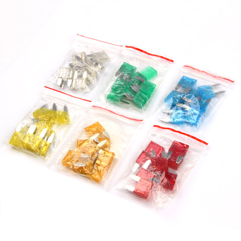 Emergency Car Fuses Set - Small Car Fuses Set Mini Car Fuses Car Maintenance Tools New Car Gadgets