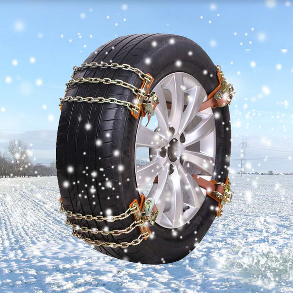 New Metal Snow Chains Anti Skid Off Road Tire Chains Small Large Car Safety Gadgets New Car Gadgets
