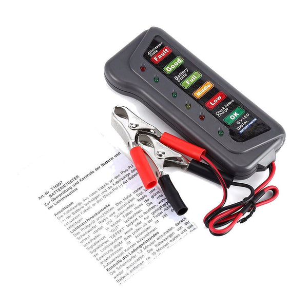 12 Volt Car Battery Tester Auxiliary Battery Tester Car Maintenance Tools New Car Gadgets