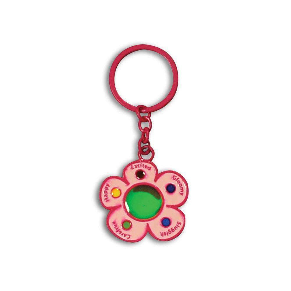 Mood Flower Car Key Chain ( Metal ) Car Keychains New Car Gadgets