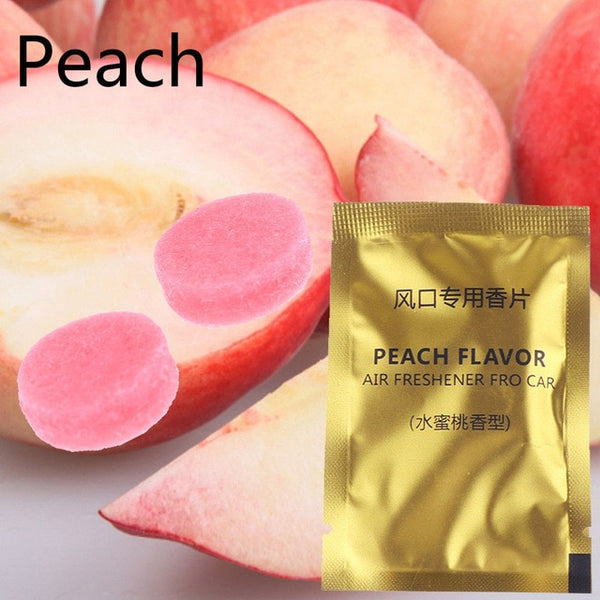 5 Pcs Scent Tablets for Car Air Fresheners Car Air Fresheners New Car Gadgets