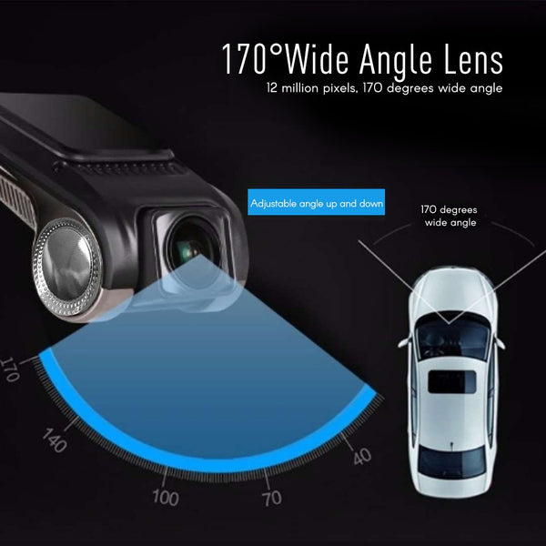 Dash Cam 1080P FHD Car DVR Camera Video Recorder ADAS G-sensor car dvr cameras dash cams New Car Gadgets