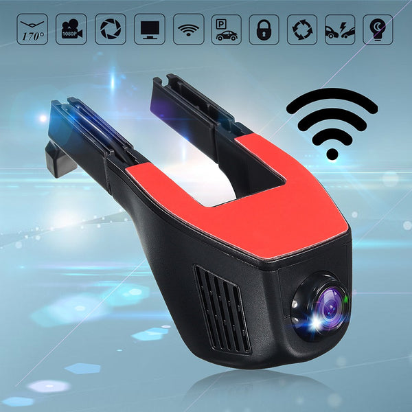 WiFi Car DVR Camera with Phone App Control HD car dvr cameras dash cams New Car Gadgets