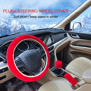 Warm Fluffy Furry Car Steering Wheel Cover Car Steering Wheel Covers New Car Gadgets