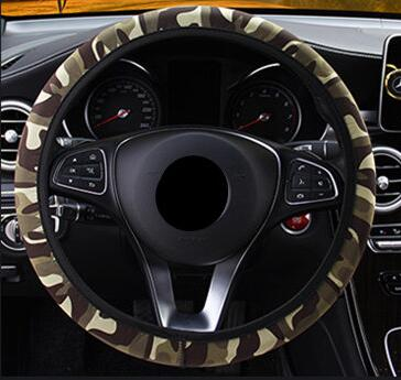 Camouflage Steering Wheel Cover Military Style Car Steering Wheel Covers New Car Gadgets
