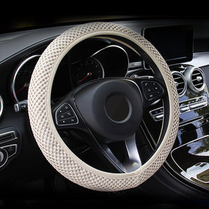 Summer Breathable Steering Wheel Cover Anti Sweat Car Steering Wheel Covers New Car Gadgets