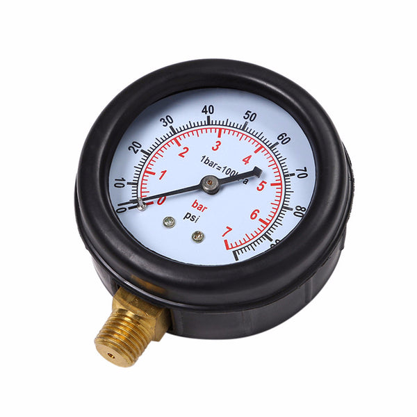 Single Port Pressure Gauge for Car Oil Leaks or Fuel Leaks Car Maintenance Tools New Car Gadgets