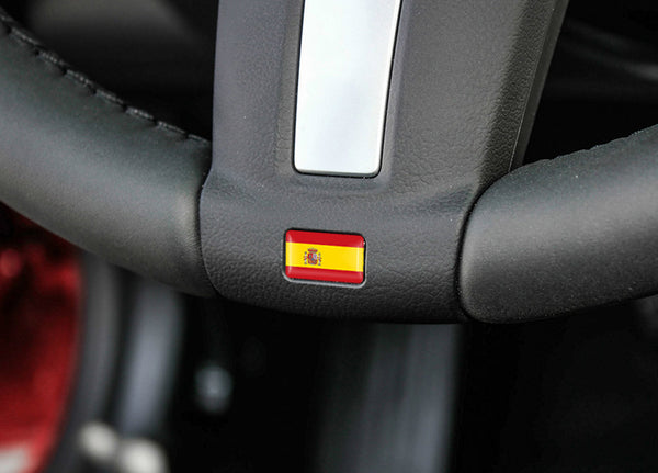 Car 3D Metallic Country Flags Car Stickers (10 Pcs) Car Stickers Decals New Car Gadgets