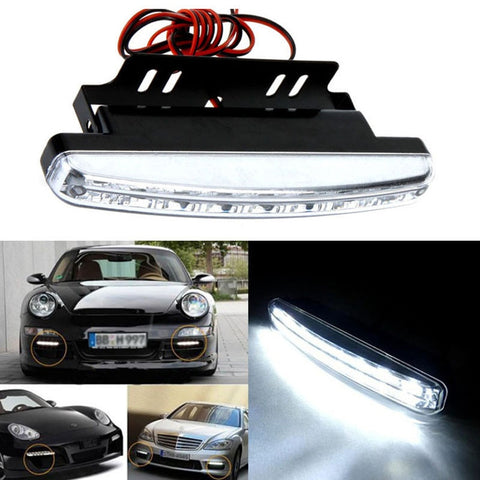 New Car Daytime Running Lights DRL Car Exterior Lighting New Car Gadgets