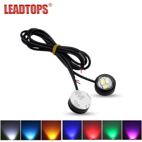 2 Pcs Car LED Daytime Running Lights DRL Decorative Car External Lighting Car Exterior Lighting New Car Gadgets