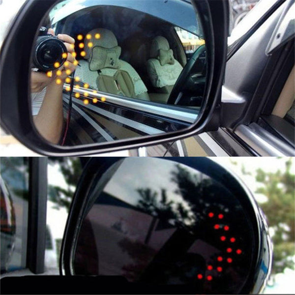 Car Turn Signal Lights Side Mirror LED (2 Pcs) car exterior lights New Car Gadgets