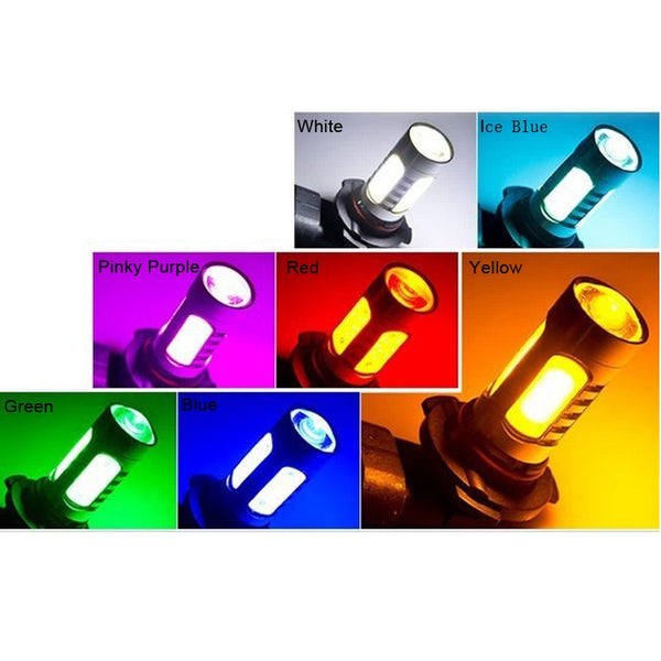 Car LED Fog Light Bulbs Different Types Car Light Bulbs New Car Gadgets