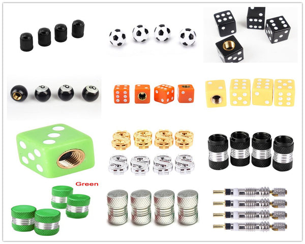 Pick from a collection of Car Tire Air Valve Caps Car Wheels Valve Covers New Car Gadgets