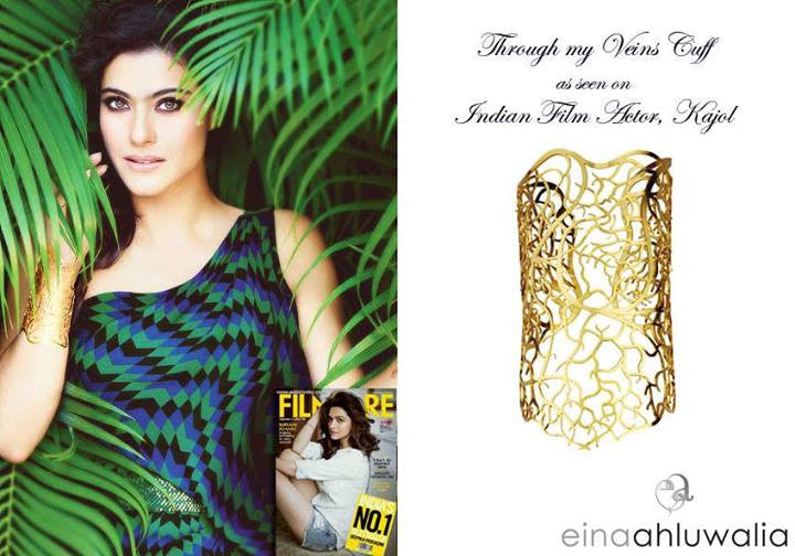 Through my Veins Cuff on Kajol