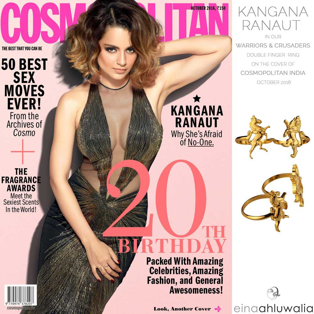 Warrior & Crusaders Ring on Cosmopolitan Cover