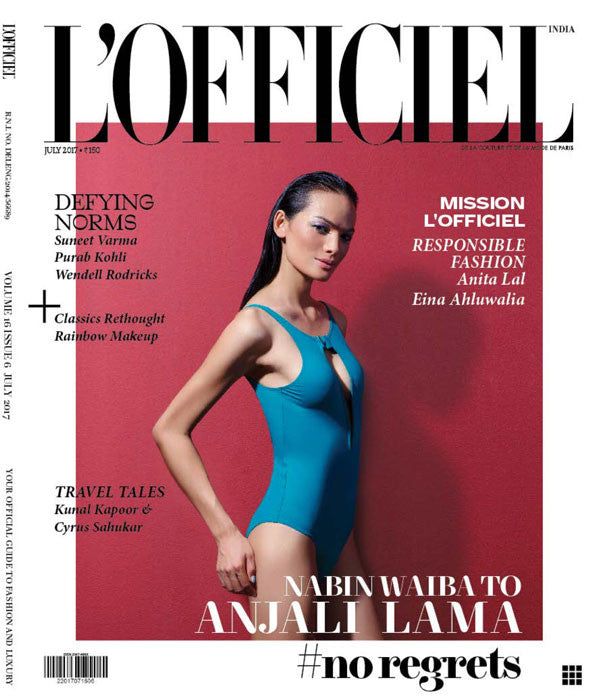 Cover story - L'officiel India, July 2017