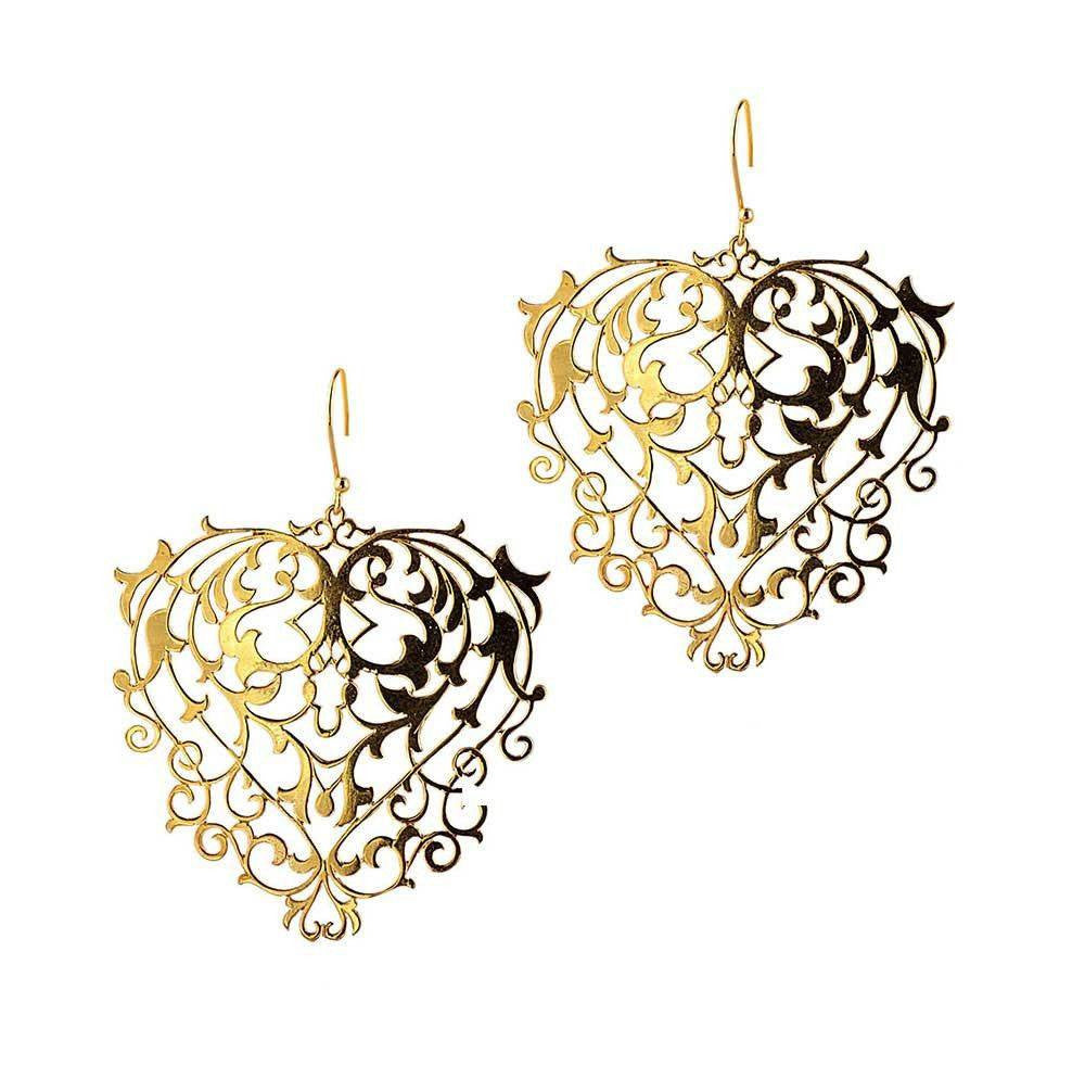 Mini Baroque Earrings
