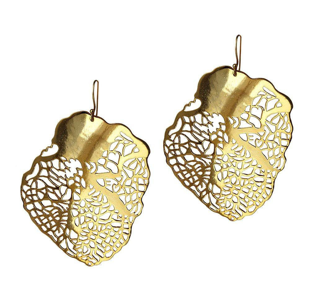 Heart of Gold Earrings