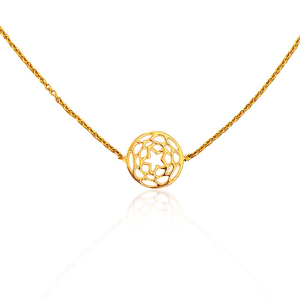 Path of Venus Necklace in 18k Gold