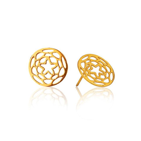 Path of Venus Earrings in 18k Gold
