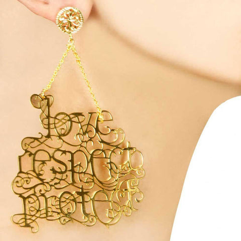 Love Respect Protect Earrings (New Edition)