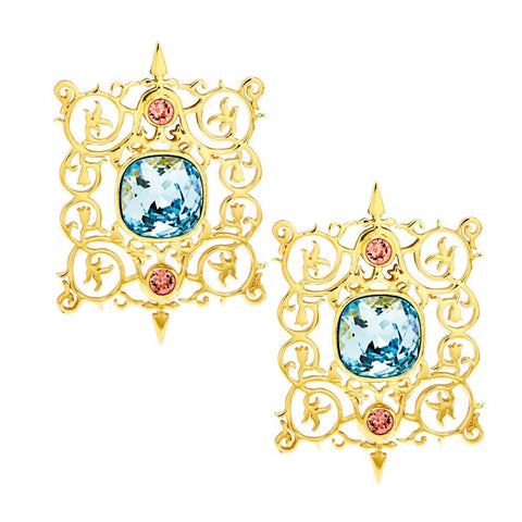 Cartouche Earrings - Confluence by Swarovski