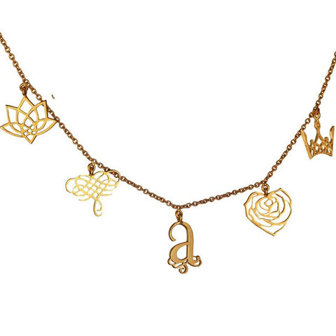 Eina Ahluwalia Charm Necklace