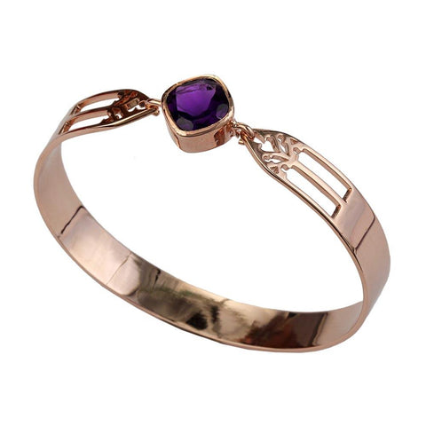 Aspire Bangle - Amethyst