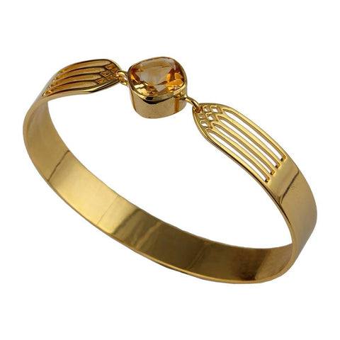 Transcend Bangle - Citrine